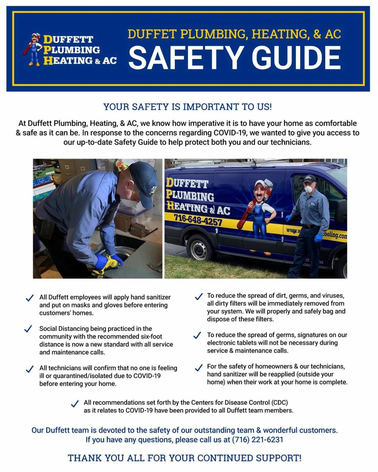 Here is our safety guide, outlining all the measures we're taking to keep you and your family safe during the COVID-19 outbreak.