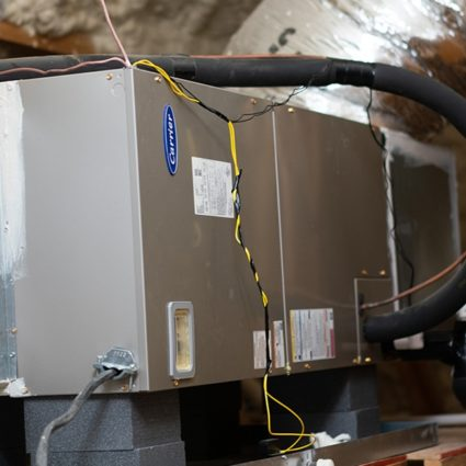 A new furnace, professionally installed by the HVAC experts at Duffett, can bring your home many years of warm, cozy winters.
